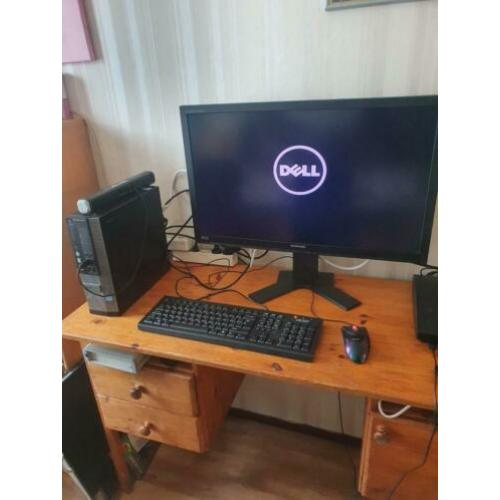 Dell optiplex 7010 Sff core i5 met 27 inch 2k monitor