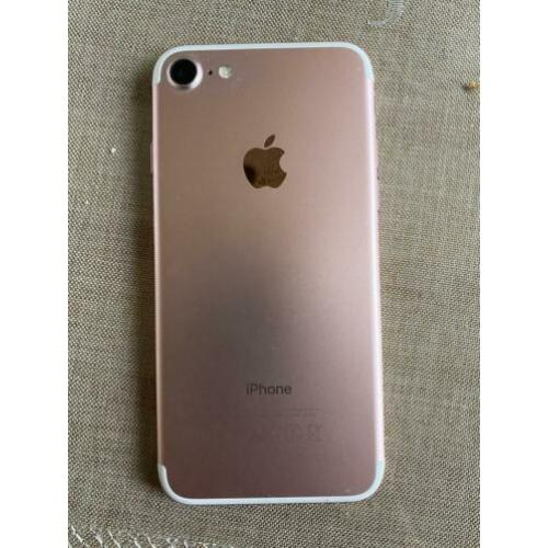 iPhone 7 128gb wit/rose
