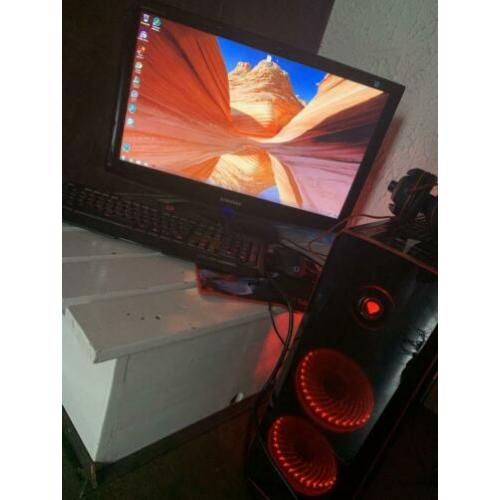 PC+Monitor+Keyboard+Mouse+Headset