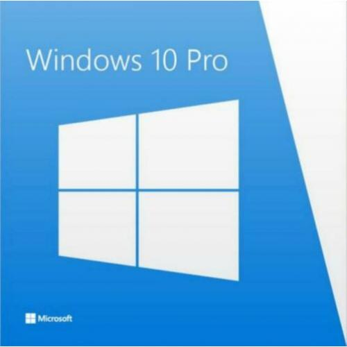 Windows 10 Pro software complete installatie recovery cd dvd