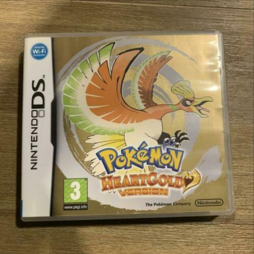 Pokemon heartgold version Nintendo ds