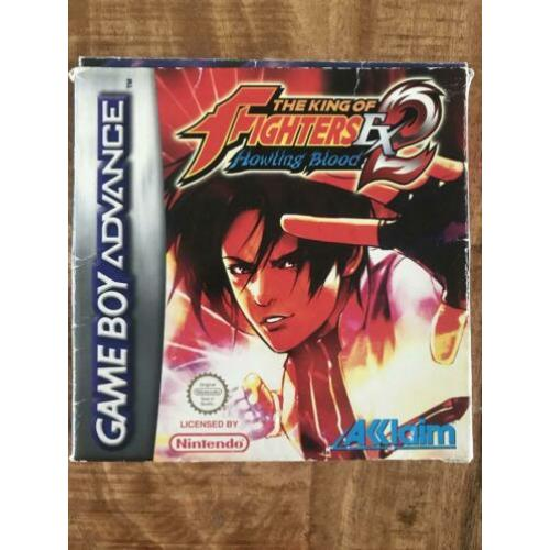 The King of Fighters EX 2 Howling Blood Gameboy Advance GBA