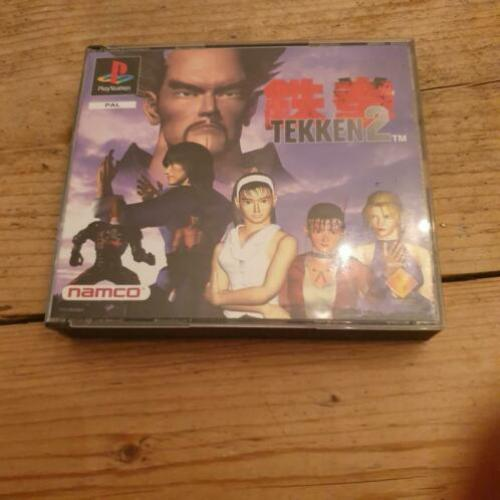 Tekken 2 Big Box playstation 1