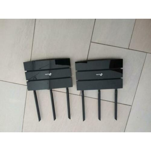 2 routers tp -link type nr ac 1200